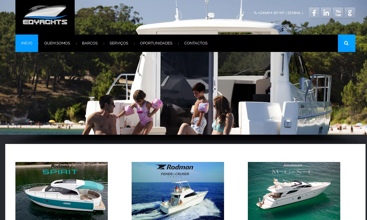 Website edyachts