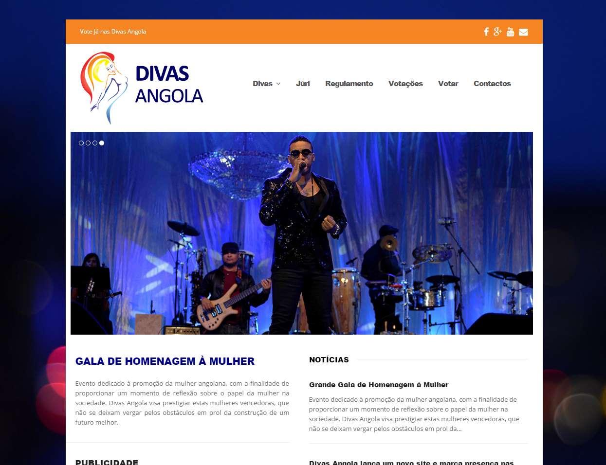 Website Divas-Angola