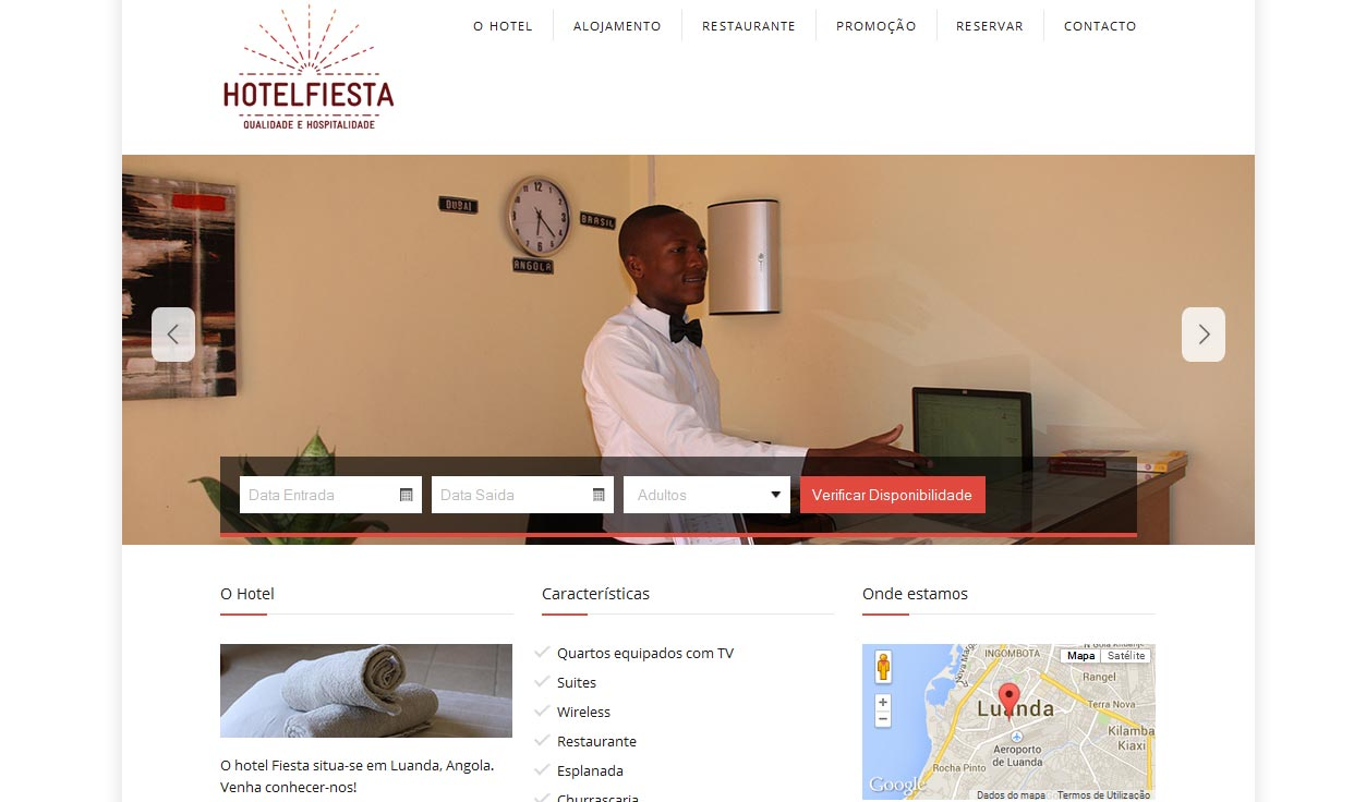 website hotel fiesta